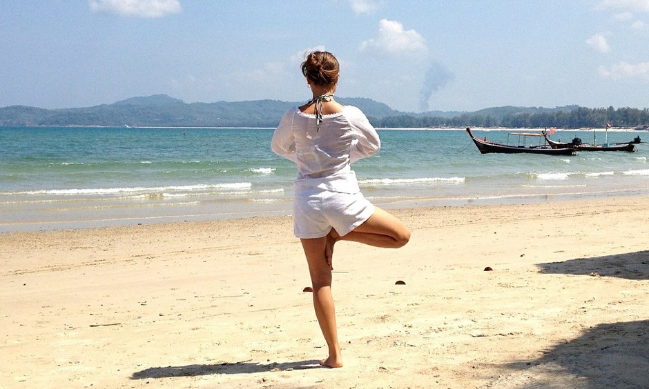 YogaConnect with nature and awaken yourself. Lay down on the sand and let the sound of the waves guide you. Close your eyes and let peace flow inside you.